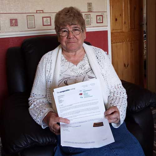 Sarah Chatham could switch and save £234 on her heating bill