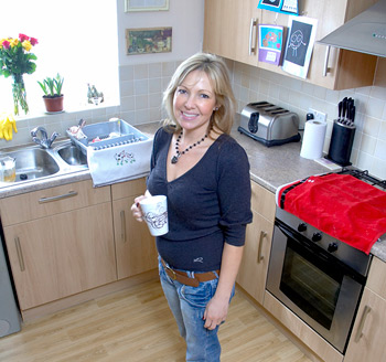 Tenant renting a house in Wakefield enjoys a new kitchen