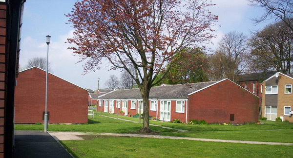 Independent Living Scheme Queens Avenue Bungalows Wakefield District