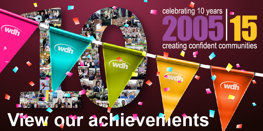 Celebrating 10 years creating confident communities. View our achievements.