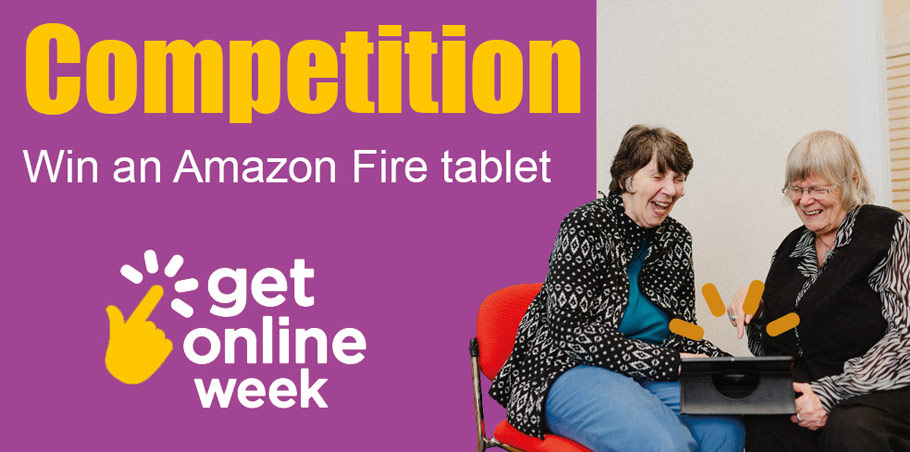 Get online week Competition - Win an Amazon Fire tablet