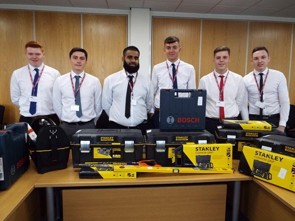 WDH welcomes new Apprentices