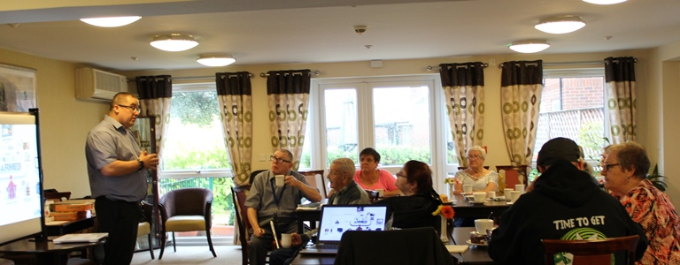 Looking after the wellbeing of our Independent Living Scheme residents